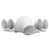 KEF E305 5.1-Channel Speaker System - White/Satin