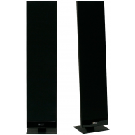 "KEF T-301 4.5"" 2-Way On-Wall Speaker Black Pair"