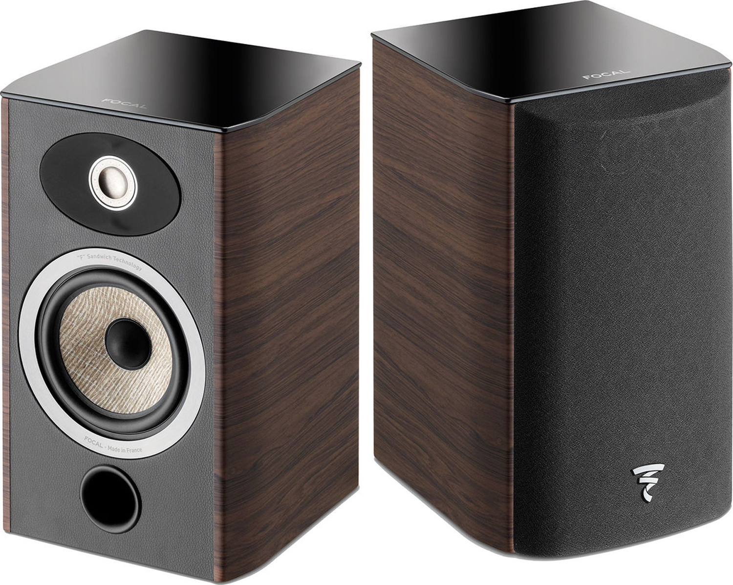 Focal Aria 905 5 Quot 2 Way Bookshelf Speaker Dark Walnut Pair