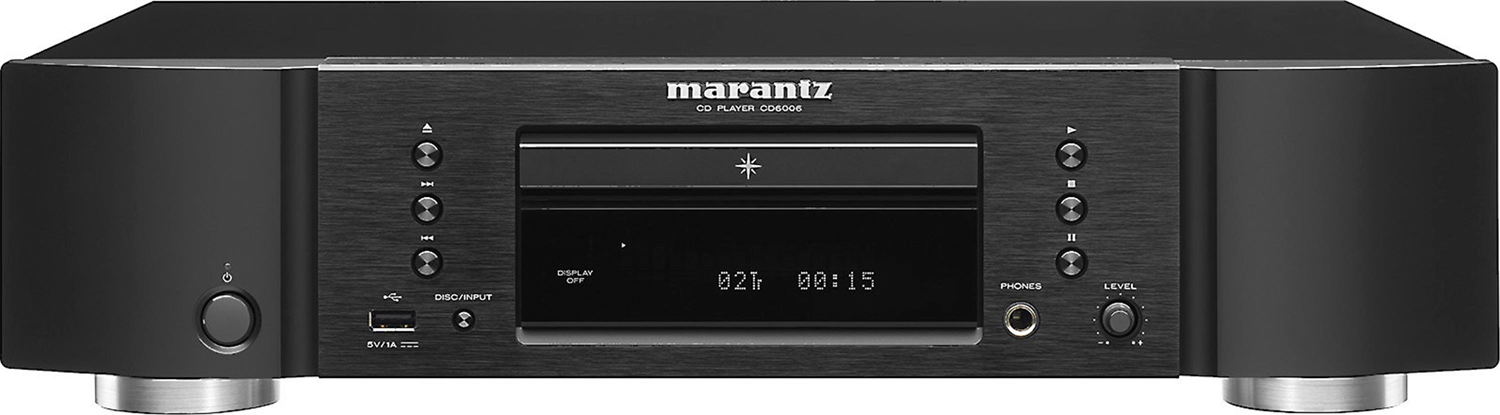 marantz cd6006 single disc cd player w usb port for ipod. Black Bedroom Furniture Sets. Home Design Ideas