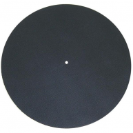 PRO-JECT Leather It Platter Mat Black