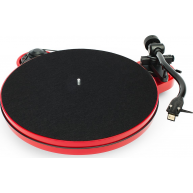 PRO-JECT RPM 1 Carbon Belt Drive Turntable Red