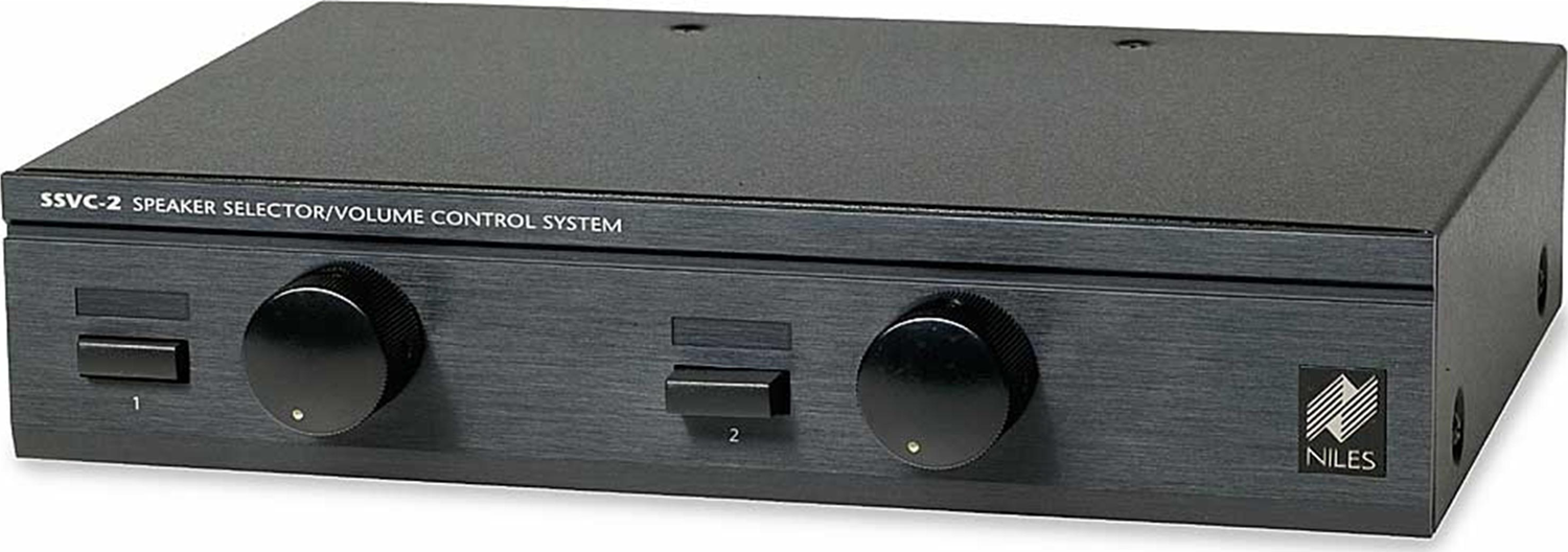 niles - 2-pair speaker selector with volume control