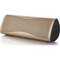 KEF MUO Portable Bluetooth Speaker Gold