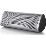 KEF MUO Portable Bluetooth Speaker Silver