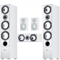 CANTON GLE 5 Piece Speaker Package White