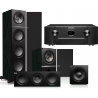MARANTZ SR6010 Receiver & KEF Q Series Speaker Package w/ Free KEF M400 Headphones!