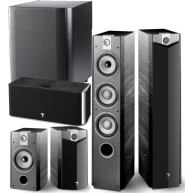 FOCAL 5.1 Piece Home Theater Package w/ Focal Sub300P Subwoofer