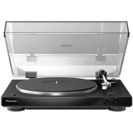 PIONEER PL-30-K Audiophile Stereo Turntable w/Dual-Layered Chassis & Phono Equalizer