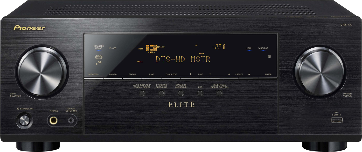 PIONEER Elite VSX-45 5.2-ch x 80 Watts Networking A/V Receiver