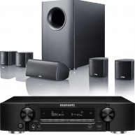 MARANTZ NR1606 Networking Slimline Receiver & Canton Movie 95 Speaker Package