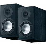 "CANTON GLE 420.2 6"" 2-Way Bookshelf Speaker Black Pair"