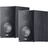 "CANTON GLS 2 6"" 2-Way Bookshelf Speaker Black Pair"
