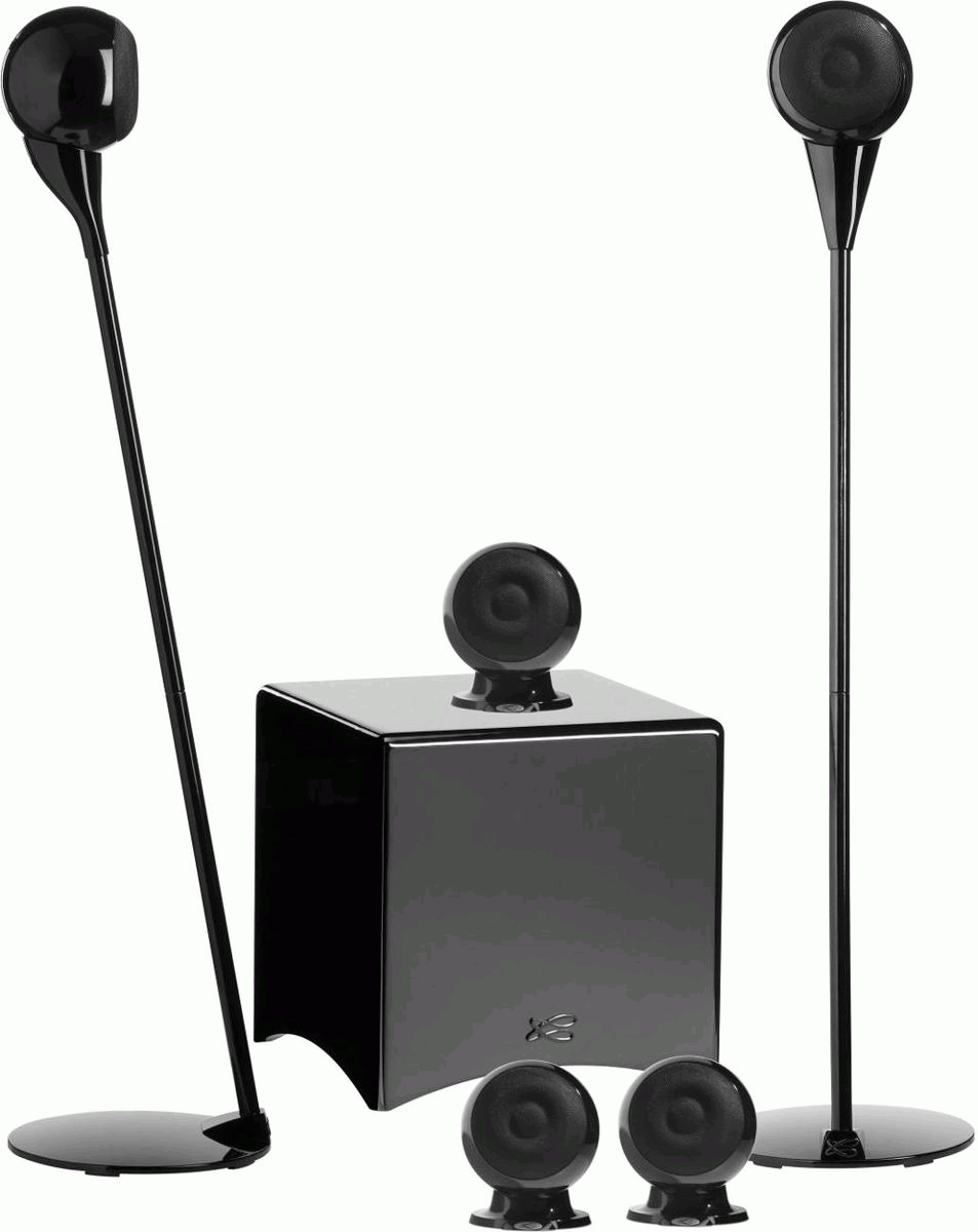 CABASSE Eole 3 5.1 Home Theater Speaker Package Gloss Black