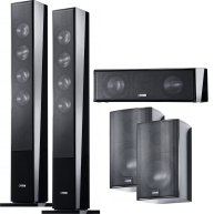 CANTON 5 Channel CD Speaker Package Black