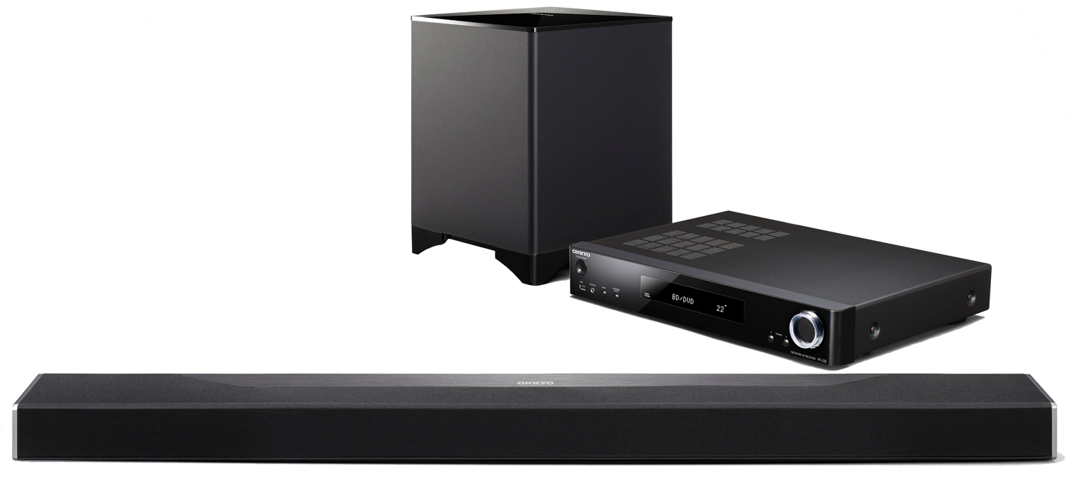 ONKYO SBT-A500 Object-Based Network Surround Sound Bar System