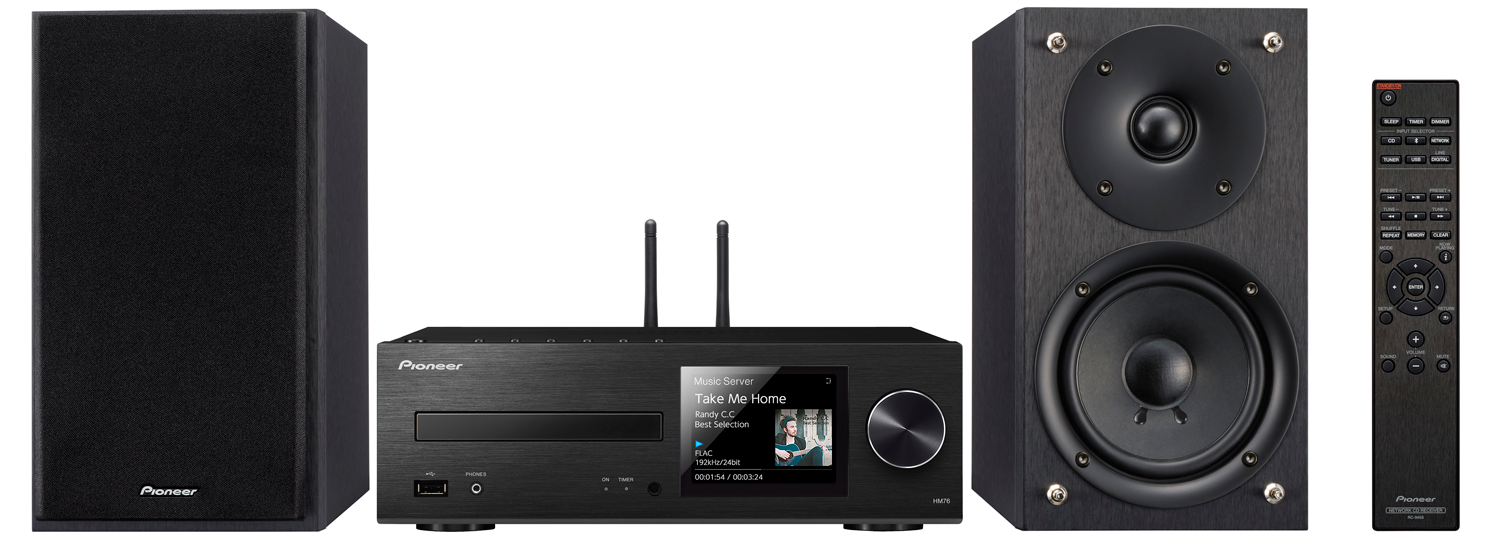 PIONEER X-HM76 40W Network Wireless Mini Music System