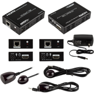 ETHEREAL HDMI® Extender Over Single CAT5E/6 W/POE 70M