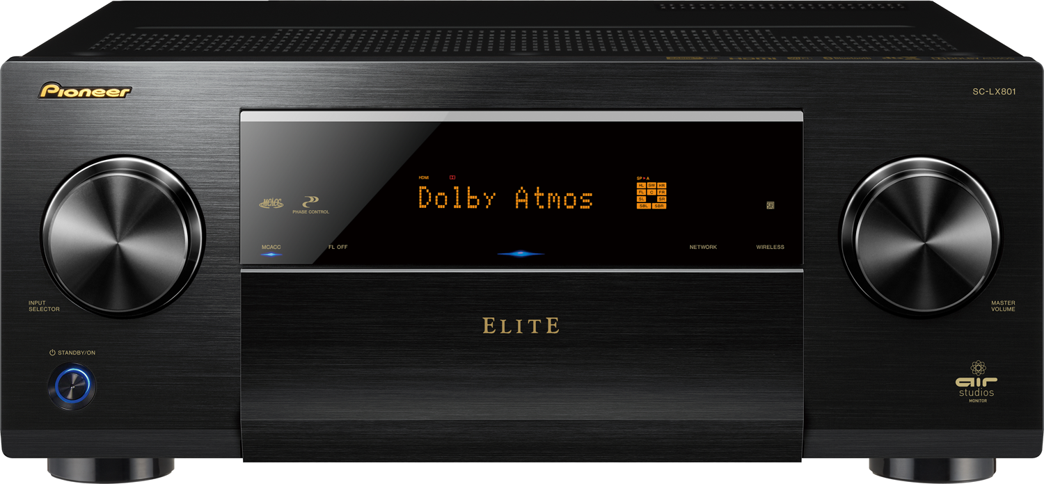 PIONEER Elite SC-LX801 9.2-Ch x 140 Watts Networking A/V Receiver