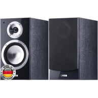 "CANTON Chrono 502.2 6"" 2-Way Bookshelf Speaker Black Pair"