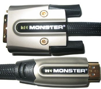 MONSTER CABLE M1000dv Hdmi To Dvi Reference Cable 1m 3.2ft