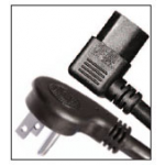 TRIBUTARIES CABLE Right Iec To Right Nema Ac Power Cord 1-1/2ft