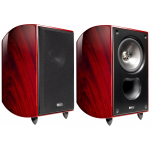 "KEF Xq20 6½"" 2-way Bookshelf Loudspeakers Mahogany Pair"