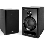 "KEF C3 Two Way 5¼"" Bookshelf Speakers Pair Black"