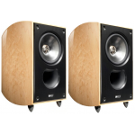 "KEF Xq20 6½"" 2-way Bookshelf Loudspeakers Maple Pair"