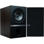 KEF Q300 Q Series 6-1/2 inch Black Bookshelf Speakers, pair