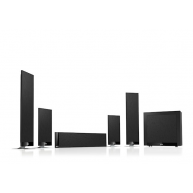 KEF T205 5.1-Channel Home Theater Speaker System Black