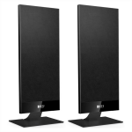 KEF T-301 2 1/2-Way On-Wall Home Theater Satellite Speaker Pair