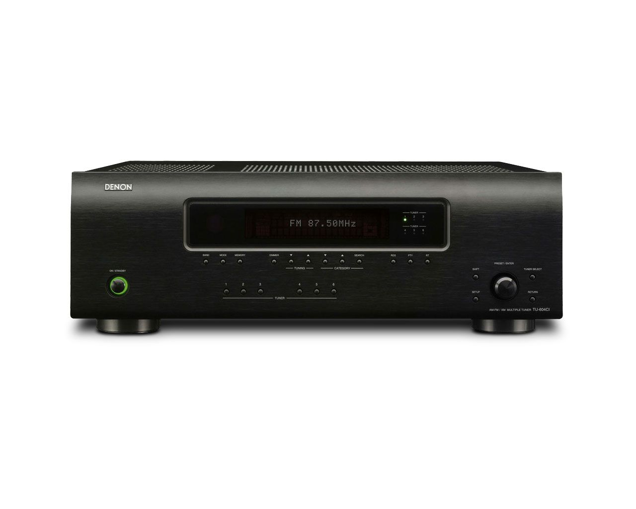 DENON TU-604CI Multi-Zone Dual AM/FM Tuner with Expansion Slots NEW