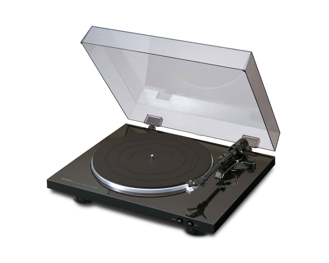 Denon Dp 300f Belt Drive Fully Automatic Analog Turntable
