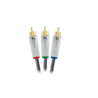 ETHEREAL EXS-CV Silver Plated 4x Shielded Component Video Cable 6.5ft