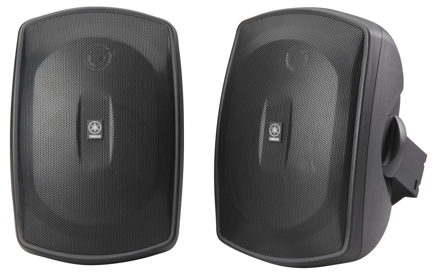 Yamaha ns aw190 5 2 way outdoor speaker black pair for Yamaha ns 50 speaker pack