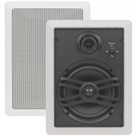 "YAMAHA NS-IW470 6.5"" 3-Way Natural Sound In-Wall Speakers Pair"