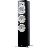 YAMAHA NS-555 3-Way Bass Reflex Floorstanding Speaker Black Each