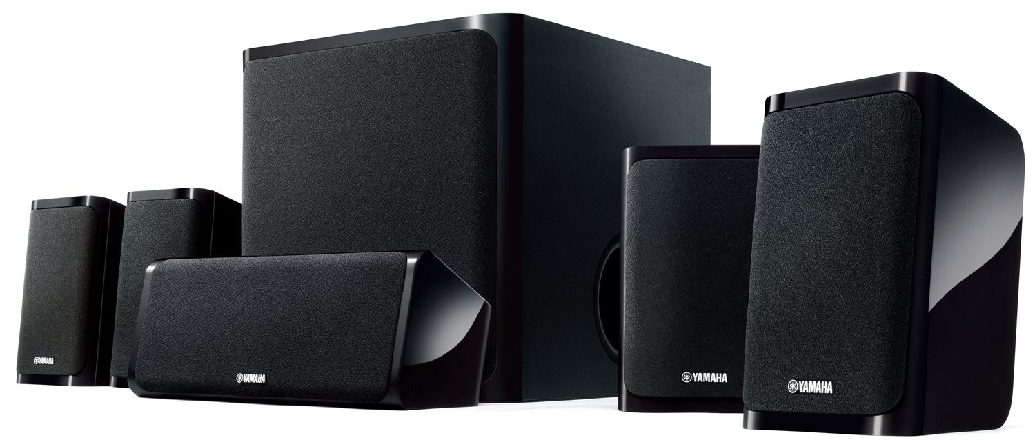 YAMAHA NS-PZ40 5.1 Channel Speaker System Black