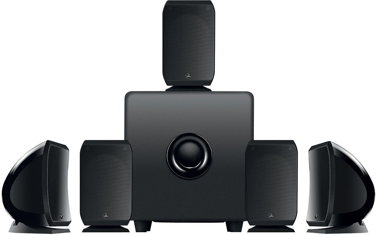 Focal 5 1 Sib Amp Cub3 Home Theater Speaker System Black