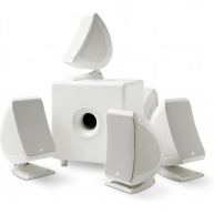 FOCAL 5.1 Sib & Cub3 Home Theater Speaker System White