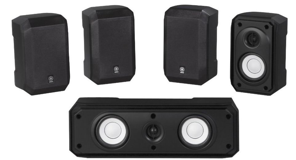 Yamaha Ns Ap2600 5 0 Surround Speaker Package