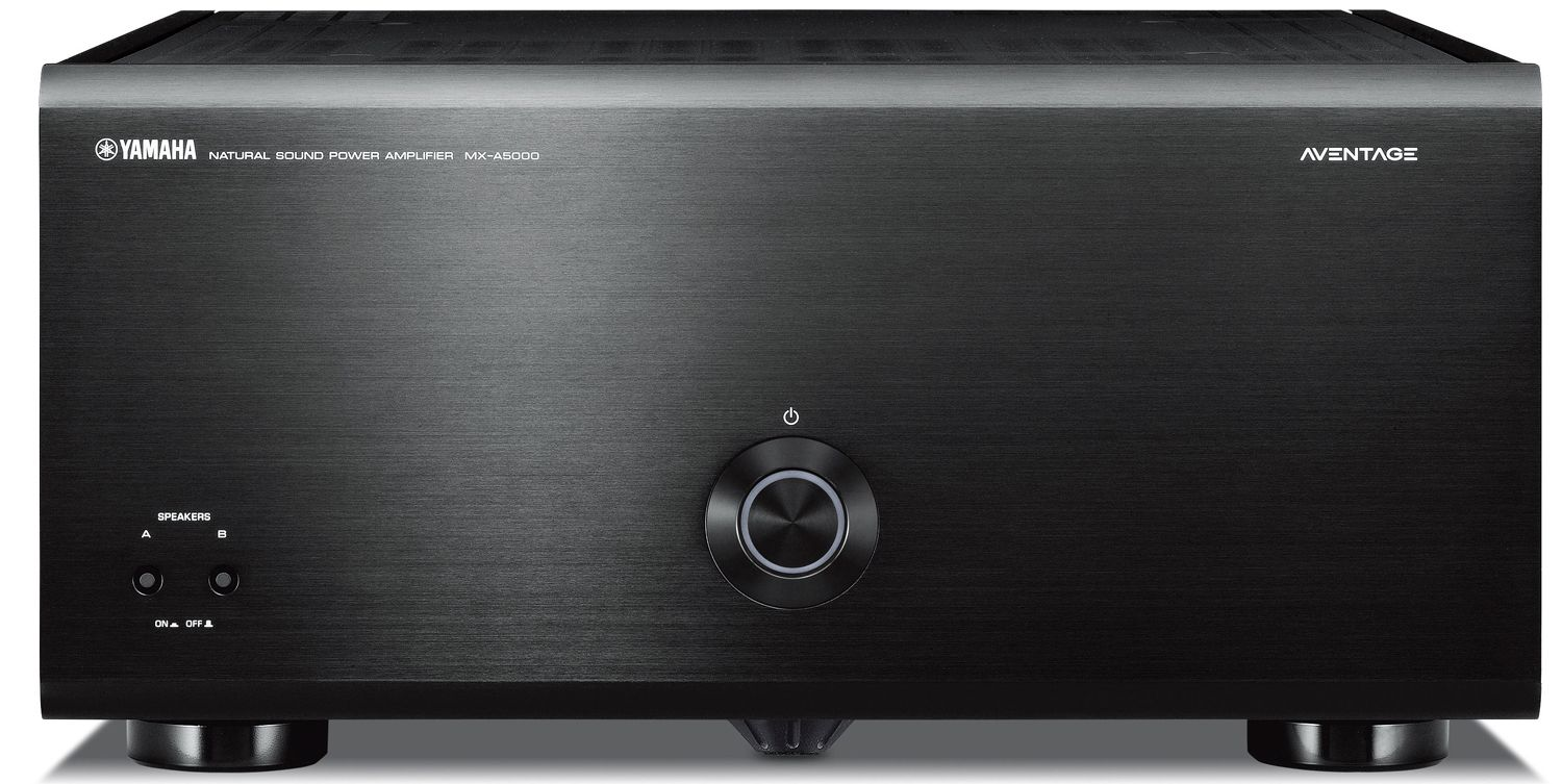 Yamaha Mx A5000 11 Ch X 150 Watts Power Amplifier