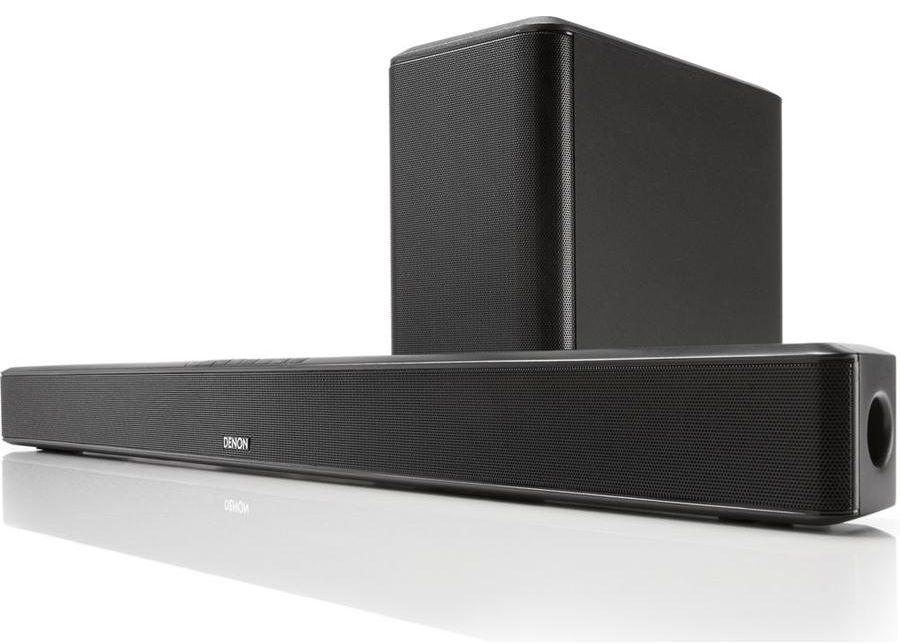 DENON DHT-S514 Powered Soundbar w/Wireless Subwoofer and Bluetooth