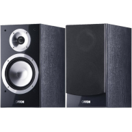 "CANTON Chrono 502.2 6"" 2-Way Bookshelf Speaker Black Pair FREE SPEAKER WIRE AND BANANA PLUGS"