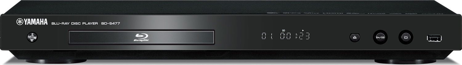 yamaha bd s477 blu ray player wi fi accessories4less. Black Bedroom Furniture Sets. Home Design Ideas