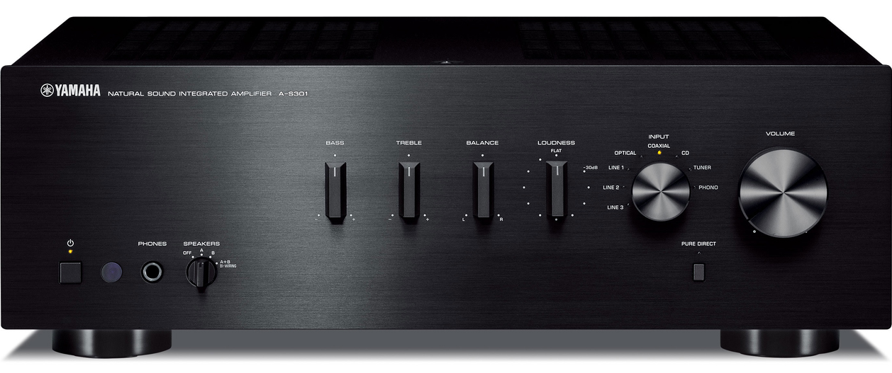 Yamaha a s301 2 ch x 60 watts integrated amplifier w for Yamaha audio customer service