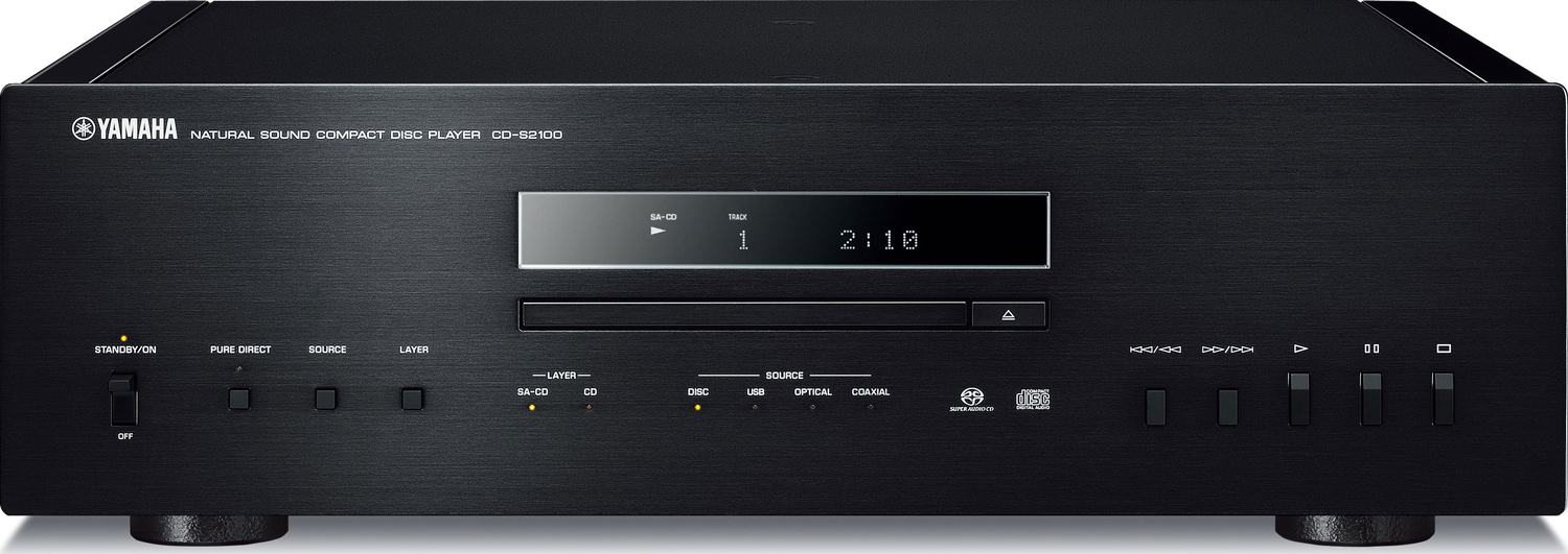 YAMAHA CD-S2100 Natural Sound Super Audio CD Player Black NEW