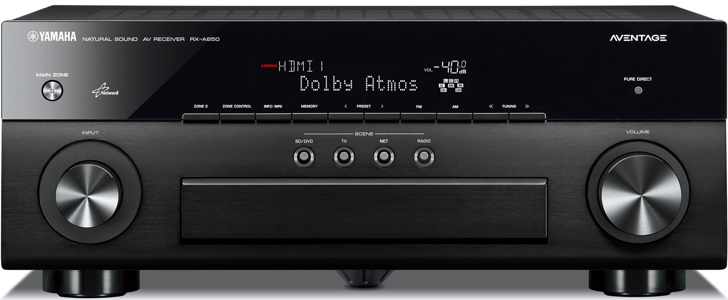 Yamaha rx a850 7 2 ch x 100 watts networking a v receiver for Yamaha receiver accessories