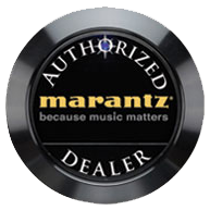 MARANTZ Authorized Dealer Logo